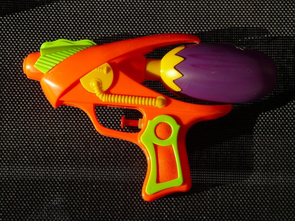 Water Pistol Get Rid of Cats